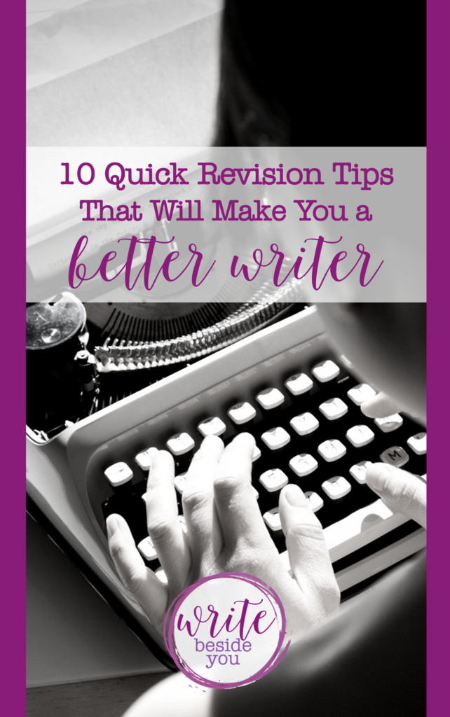 revision tips better writer